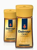 Dallmayr Gold в стеклянной банке, натуральный растворимый кофе, 200гр., Германия