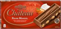 Шоколад Chateau Rahm Mandel великолепный миндаль в сочетании с благородным молочным шоколадом, 200гр. Германия