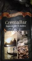 Кофе в зернах valentinos cremabar espresso 100% arabika 1кг., Германия