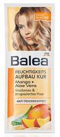 Balea Feuchtigkeits Aufbaukur Mango+Aloe Vera - Маска с экстрактом манго для сухих и поврежденных волос (Германия) 25 мл.