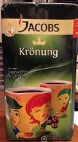Кофе Jacobs Kronung, наслаждение высшего класса. вакуумный брикет 500гр., Германия
