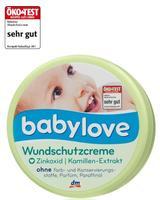 Babylove Wundschutzcreme - Детский защитный крем с оксидом цинка и экстрактом ромашки (Германия) 150мл.