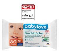 Babylove sensitive Feuchttucher - влажные салфетки для чувствительной кожи (Германия) 80шт.
