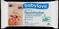Babylove sensitive Feuchttucher - влажные салфетки для чувствительной кожи (Германия) 30шт.