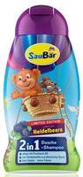 Saubar 2in1, Dusche + Shampoo + Heidelbeere - душ + шампунь черника (Германия) 250 мл.