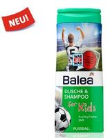 Balea dusche & shampoo for Kids Fussball футбол - Гель-душ + шампунь без слез (Германия) 300мл.