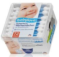 Babylove Sicherheits Wattestabchen Специальные ушные палочки для детей 72шт. (Германия) 80шт.