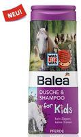 Balea dusche & shampoo for Kids Pferde лошади - Гель-душ + шампунь без слез (Германия) 300мл.