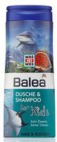 Balea dusche & shampoo for Kids Haie & Rochen акулы - Гель-душ + шампунь без слез (Германия) 300мл.