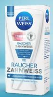 Отбеливающий Гель для зубов Perl Weiss Raucher-Zahnweiss для курящих людей c длительно свежим дыханием -Экстра свежесть! в коробке (Германия) 50 мл.