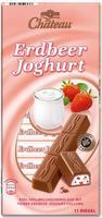 Choceur Schoko Erdbeer Joghurt - йогурт клубника 11 ригелей. 200гр. Германия