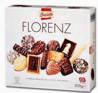Изысканное Немецкое Печенье ассорти Florenz от немецкого бренда Biscotto. 500гр. (Германия)