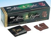 Темный Шоколад After Eight от Nestle - тонкие шоколадные кармашки с начинкой из мятного крема 200 гр. (Германия)