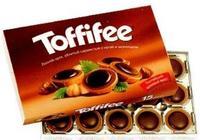 Шоколадные конфеты Тоффифе (Toffifee), 125гр. Германия