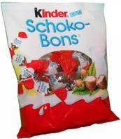 Шоколадные конфеты FERRERO Kinder Schoko-Bons (БОЛЬШАЯ УПАКОВКА) BIG!!!, 360гр. Германия