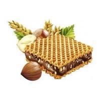 GEFULLTE HASELNUSS schnitte WAFFEL- вафли с шоколадно-кремовой начинкой 20.8гр. (Германия)