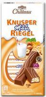 Choceur Schoko-Riegel Schoko Knusper Milch Riegel - c молочной начинкой орех-воздушный рис, 11 ригелей. 200гр. Германия