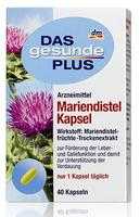 Das gesunde Plus Mariendistel Kapseln биологическая добавка для поддержки пищеварительной функции.(Германия) 40 капсул.