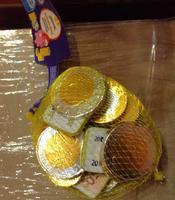 """Шоколадные монеты """"Евро"""" и деньги """"Евро"""" в виде шоколадок, 150 гр. Германия"""