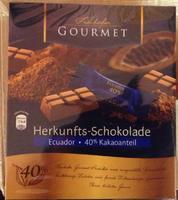 Шоколадные конфеты Freihofer Gourmet Herkunftsschokolad 40% какао.