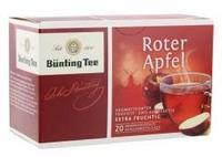 Früchtetee Bünting Roter Apfel - фруктовый чай Bünting красное яблоко 20 пакетиков. (Германия)