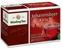 Fruchtetee Bunting Johannisbeer Kirsch - фруктовый чай Bunting  - смородина и вишня 20 пакетиков. (Германия)