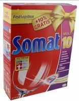 Somat Pack 49 tabs 10 Multi - таблетки для посудомоечных машин c 10 функциями, 49 штук (Германия) . 0.98кг