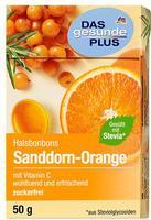 Dm Das gesunde plus Halsbonbons Sanddorn-Orange mit vitamin C - Dm Das gesunde plus Конфеты от горла Облепиха-Апельсин с витамином C (Германия)      50 гр.