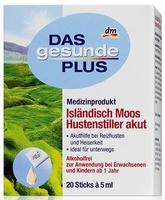 Dm Das gesunde plus - Isländisch Moos Husten-Liquid - капсулы с сиропом от кашля. (Германия) 20 шт. по 5мл.