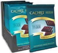 Премиум шоколад Cachet 70% Extra Dark Chocolate - экстра темный, 300гр. Бельгия