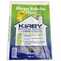 упаковка 6шт. Мешки (пылесборники) Kirby Micron Magic Hepa Allergen UNIVERSAL      6 мешков.