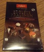 Конфеты Sprengel, Edelste Pralinen mit Feiner Zartbitter-Schokolade - прекрасное пралине с отличным темным шоколадом. 300 гр. (Германия)