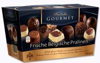 Конфеты Freihofer Gourmet - Frische Belgische Pralinen  Свежее бельгийское пралине. 500гр. (Бельгия)