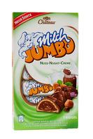 Milch Jumbo со слоном - с шоколадной нугой (зеленая) 7 ригелей, 150 гр. Германия