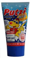 "Детская зубная паста Putzi Tutti Frutti - с ароматом ""Tutti Frutti"" (с кальцием) (Германия) 50мл."