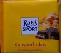 Шоколад Ritter Sport Knusper Flakes - С кукурузными хлопьями. 100гр. Германия