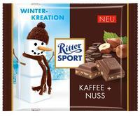 Ritter sport Ritter sport Kaffee + Nuss - сливки для кофе и фундук, 100гр. Германия