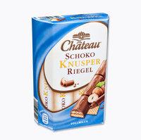 Schoko Knusper Riegel - шоколадные вафли покрыты молочным шоколадом 10 ригелей, 150 гр. Германия