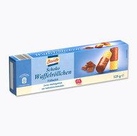 Трубочки с шоколадом BISCOTTO Schoko Waffelrollchen – в молочном, 125 гр. Германия