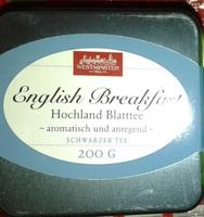 Westminster Tee - немецкий чай Westminster в жестяной коробке. Английский черный (Германия)