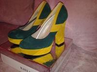 """Женская обувь """"Kayla Shoes"""" 37 размер, под замш"""