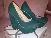 """Женская обувь """"Kayla Shoes"""" 38 размер, под замш"""