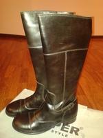итальянские сапоги кожанные девич./женск. Jopper Echtleder Stiefel 35 размер