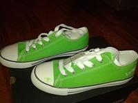 кеды Tom Tailor зеленые 39 размер, резина и текстиль