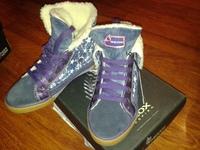 Утепленные полуботинки для девочек GEOX Mädchen warm gefütterte Sneaker JR WITTY , размер 32