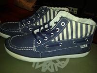 обувь Fila бело-синие, размер 36.