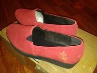 Schicke Slipper туфли женские, кожа замш 35-36 размер
