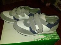 кроссовки FULLSTOP 32 размер, кожа