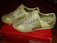 кроссовки MARC ECKO Damen Sneakers Sportschuhe PRINCIPALS-DARIA 39,5 размер, цвет золотистый