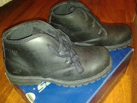 ботинки SKECHERS WENTWORTH - ENGRAVEDSKECHERS, 32 размер, цвет черный